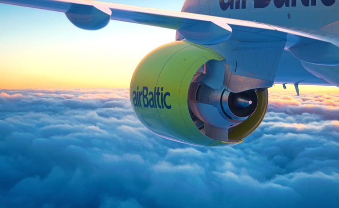 «Сердечные цены на полеты» от авиакомпании AirBaltic