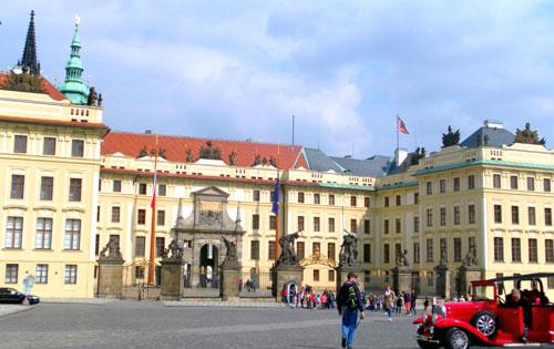 Прага Старый королевский дворец